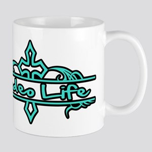 Rodeo Life-Turquoise Mugs