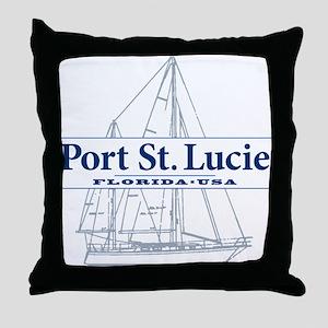 Port St. Lucie - Throw Pillow