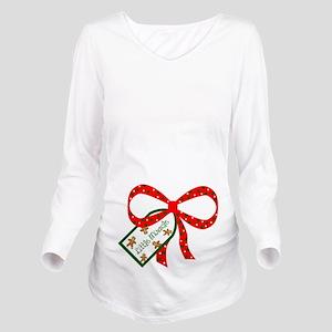 Little Miracle Long Sleeve Maternity T-Shirt