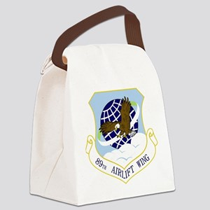 89th AW Canvas Lunch Bag
