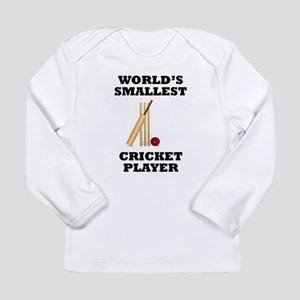 Worlds Smallest Cricket Player Long Sleeve T-Shirt