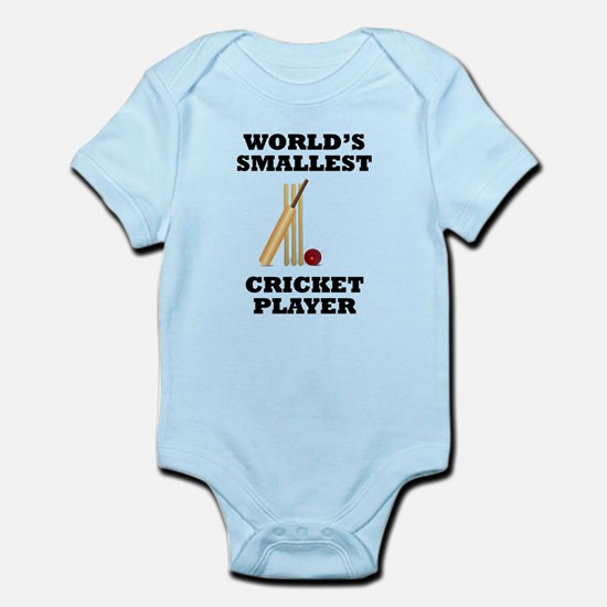 Worlds Smallest Cricket Player Body Suit