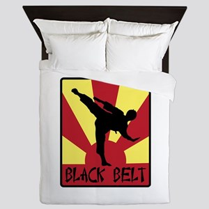 Black Belt Queen Duvet