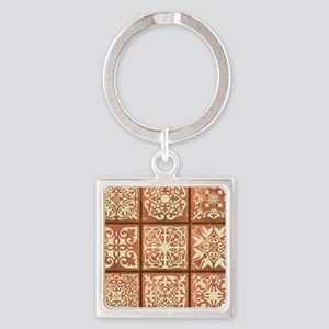 NINE PATCH Square Keychain