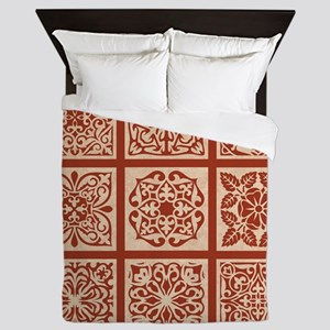 NINE PATCH Queen Duvet