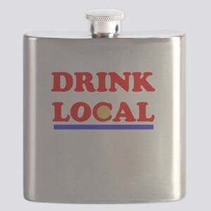 Drink Local Flask
