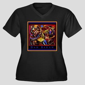 Sea Saw by Dan Baran Plus Size T-Shirt