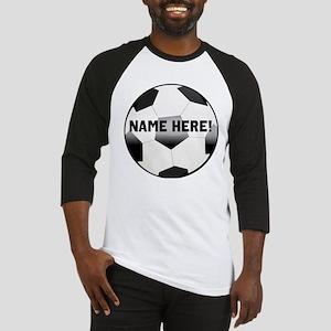 Personalized Name Soccer Ball Baseball Jersey