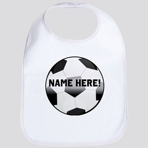 Personalized Name Soccer Ball Bib