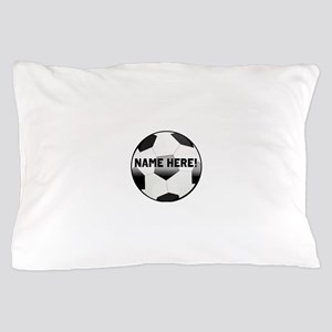 Personalized Name Soccer Ball Pillow Case