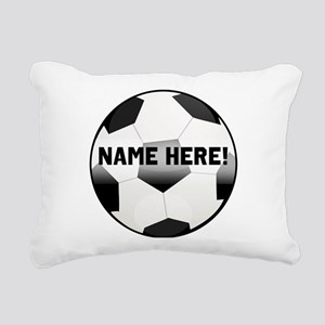 Personalized Name Soccer Ball Rectangular Canvas P