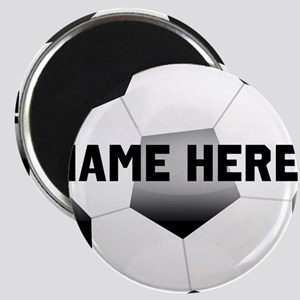 Personalized Name Soccer Ball Magnet