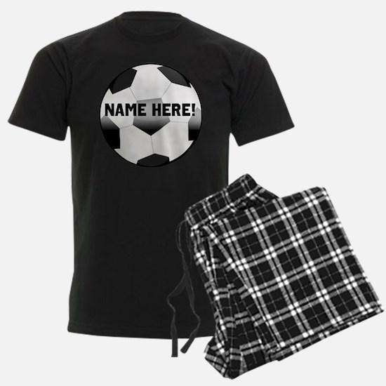 Personalized Name Soccer Ball Pajamas