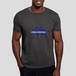 LEATHER BEAR/RED SHADOW Dark T-Shirt