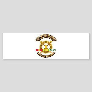 Army - 41st Artillery Group w SVC Ribbon Sticker (