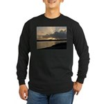 Sunrise in Tasmania Long Sleeve Dark T-Shirt
