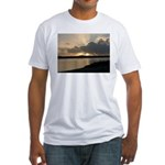 Sunrise in Tasmania Fitted T-Shirt