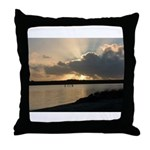 Sunrise in Tasmania Throw Pillow