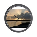 Sunrise in Tasmania Wall Clock