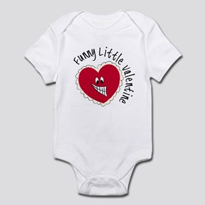 Funny Little Valentine Infant Bodysuit