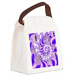 Violet Light Canvas Lunch Bag
