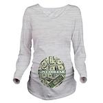Long Sleeve Maternity T-Shirt (lite) 1