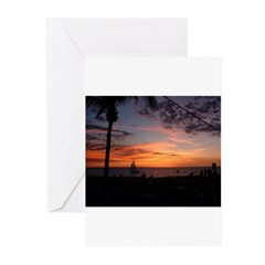 Dawin Sunset Greeting Cards (Pk of 10)