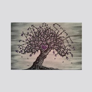 Namaste Love Tree Art Magnets