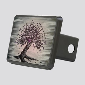 Namaste Love Tree Art Rectangular Hitch Cover