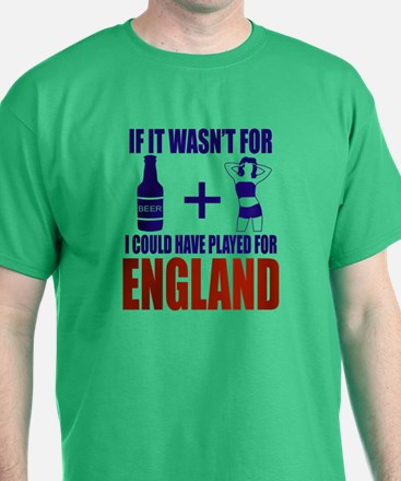 Fun England Football supporter tee T-Shirt