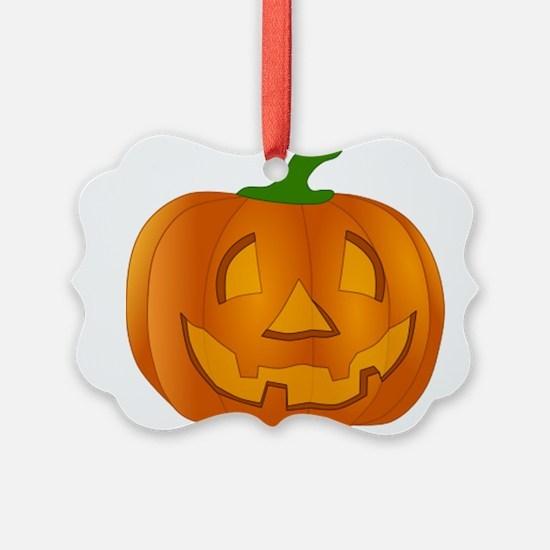 Halloween Jack-o-Lantern Pumpkin Ornament