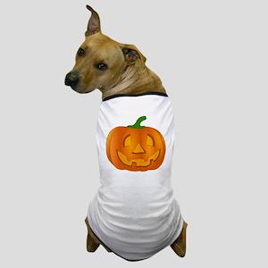 Halloween Jack-o-Lantern Pumpkin Dog T-Shirt