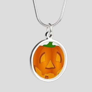 Halloween Jack-o-Lantern Pumpkin Necklaces