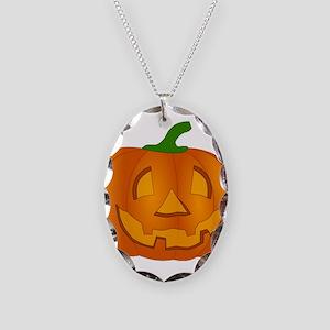 Halloween Jack-o-Lantern Pumpkin Necklace
