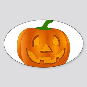 Halloween Jack-o-Lantern Pumpkin Sticker