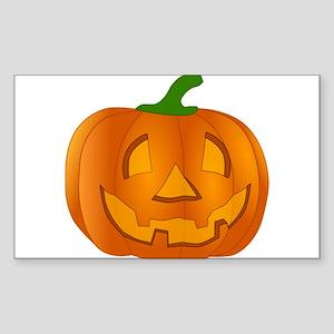 Halloween Jack-o-Lantern Pumpkin Sticker