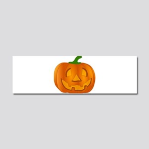 Halloween Jack-o-Lantern Pumpkin Car Magnet 10 x 3