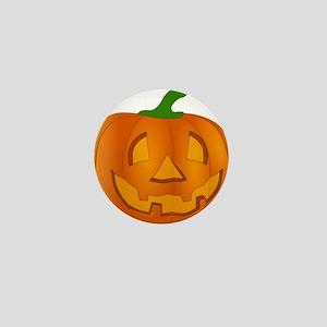 Halloween Jack-o-Lantern Pumpkin Mini Button