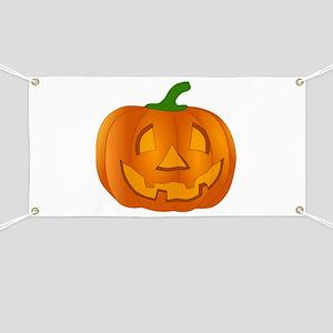 Halloween Jack-o-Lantern Pumpkin Banner