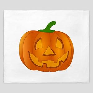 Halloween Jack-o-Lantern Pumpkin King Duvet