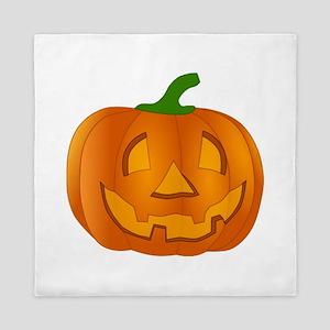 Halloween Jack-o-Lantern Pumpkin Queen Duvet