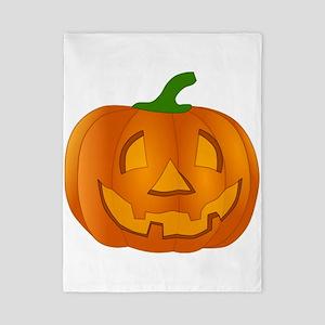 Halloween Jack-o-Lantern Pumpkin Twin Duvet