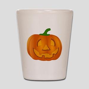 Halloween Jack-o-Lantern Pumpkin Shot Glass