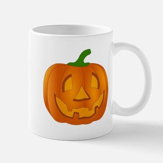 Halloween Jack-o-Lantern Pumpkin Mugs