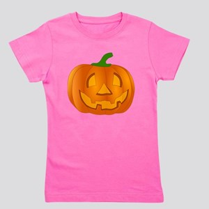 Halloween Jack-o-Lantern Pumpkin Girl's Tee