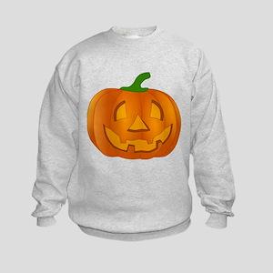 Halloween Jack-o-Lantern Pumpkin Sweatshirt