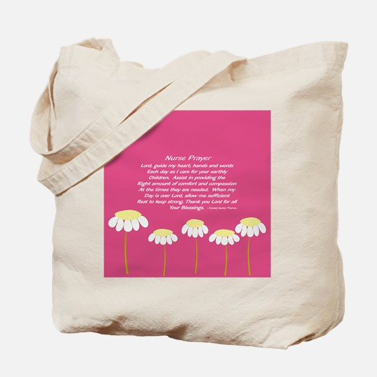 Nurse Prayer Blanket PILLOW 2 Tote Bag