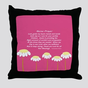Nurse Prayer Blanket PILLOW 2 Throw Pillow