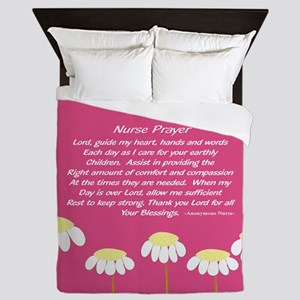 Nurse Prayer Blanket PILLOW 2 Queen Duvet