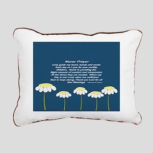 Nurse Prayer Blanket Pillow Rectangular Canvas Pil